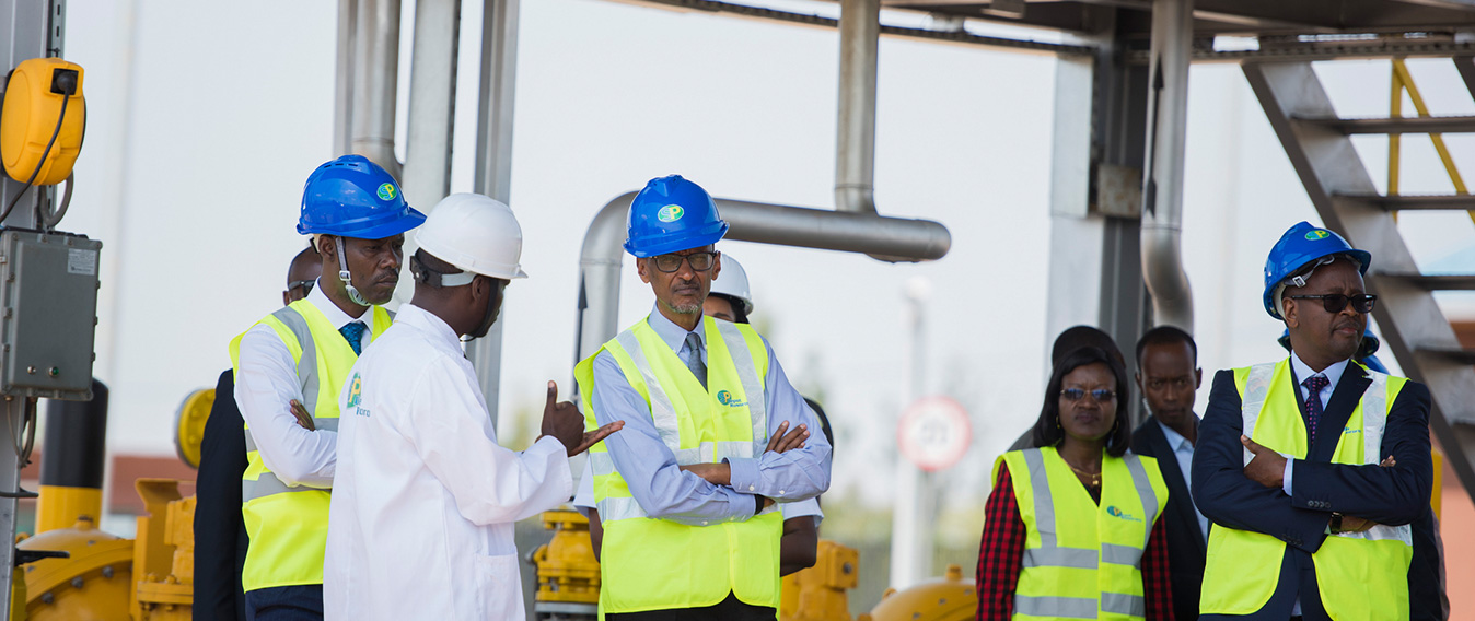 President KAGAME inaugurates SP Rusororo Fuel depot