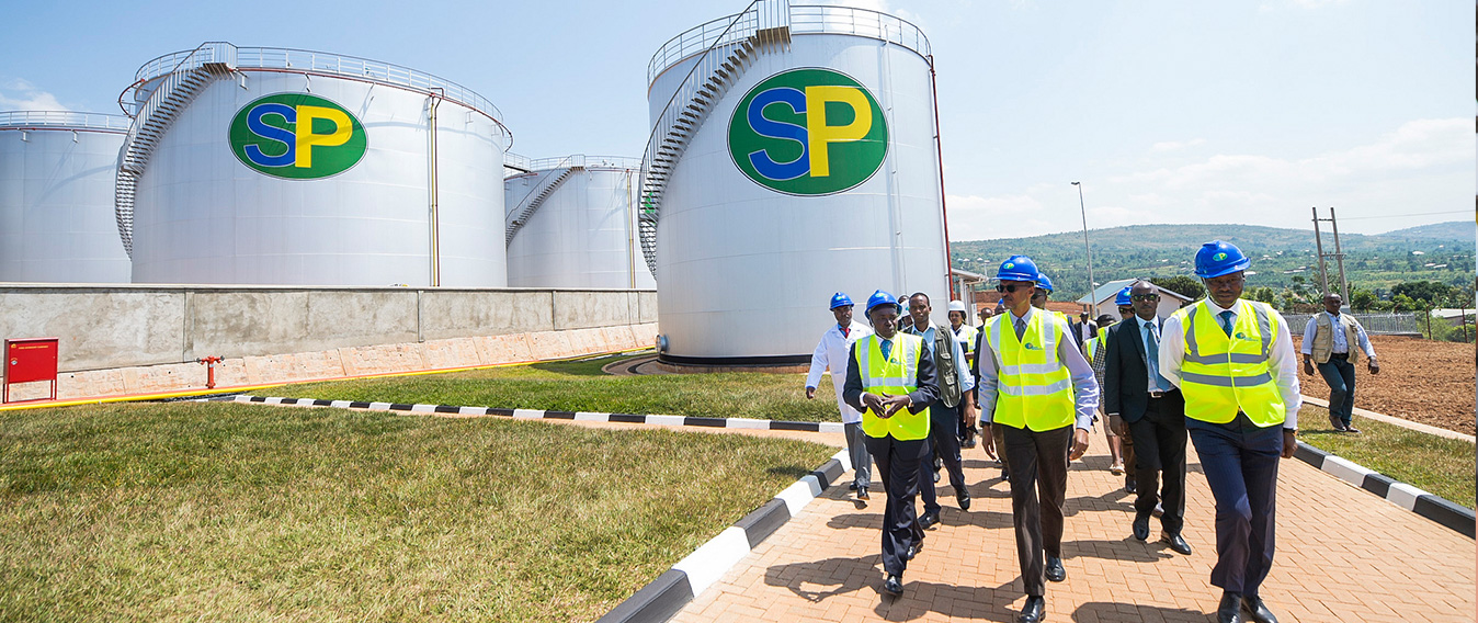 Inauguration of the SP Rusororo Fuel Depot | Gasabo District, 11 June 2016